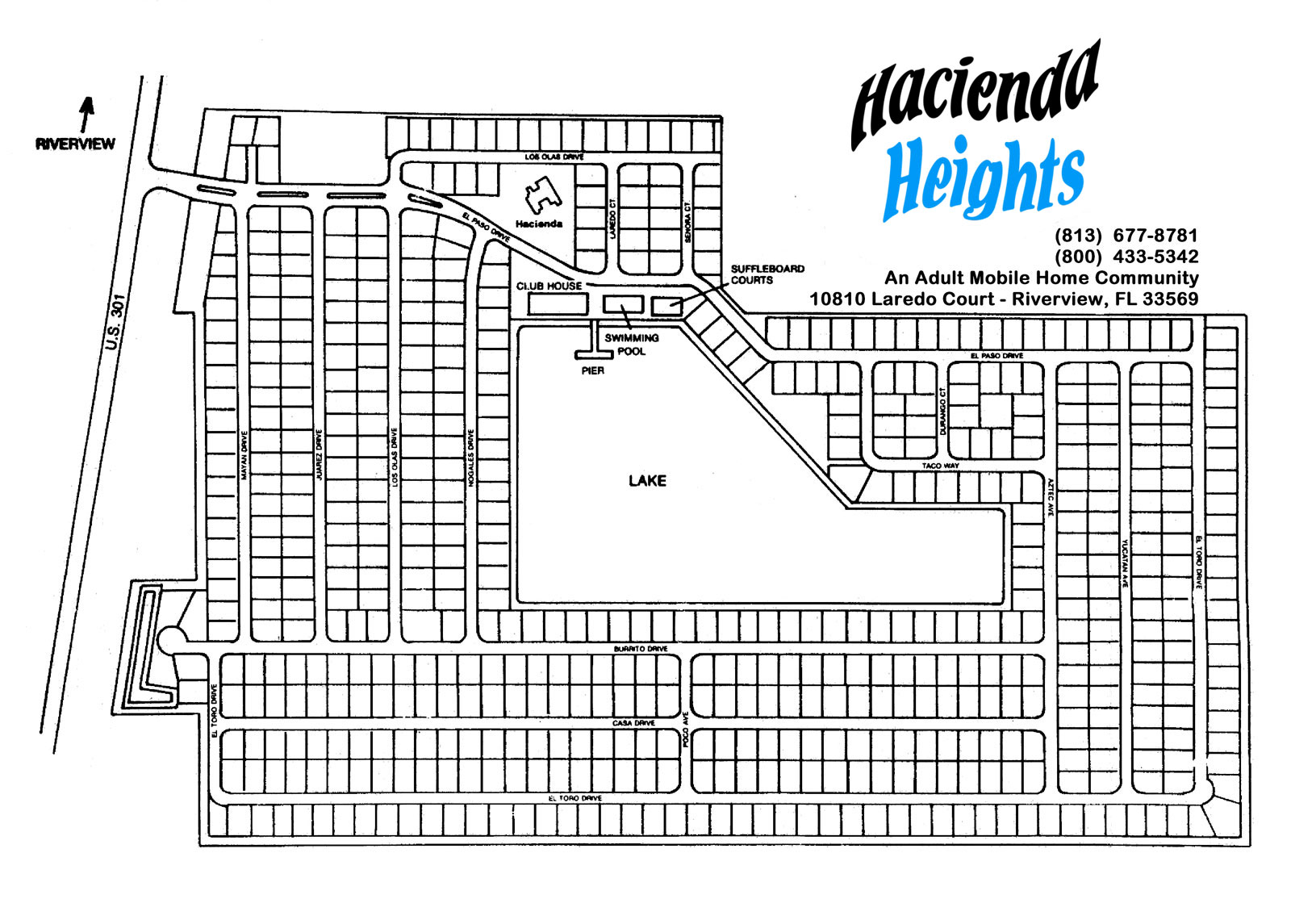 Hacienda Heights Property Site Plan