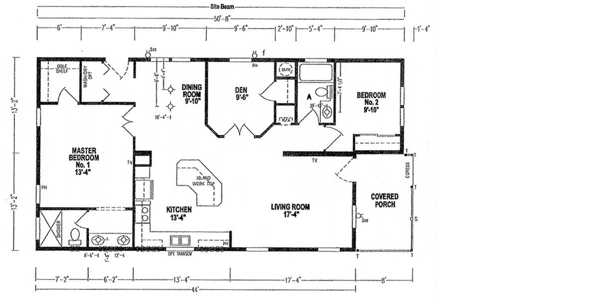 Floor Plan - Model 5006 - 10712 Casa Drive, Riverview, Florida
